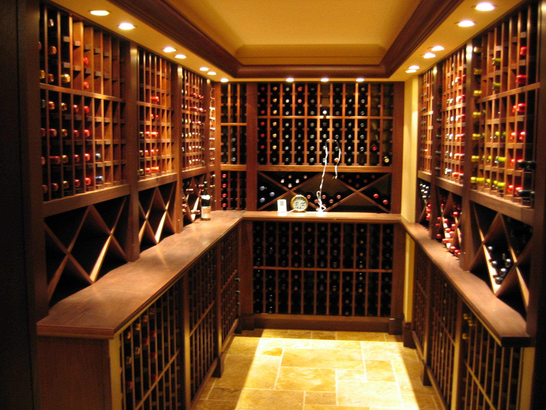 Custom wine cellars Cellar designs